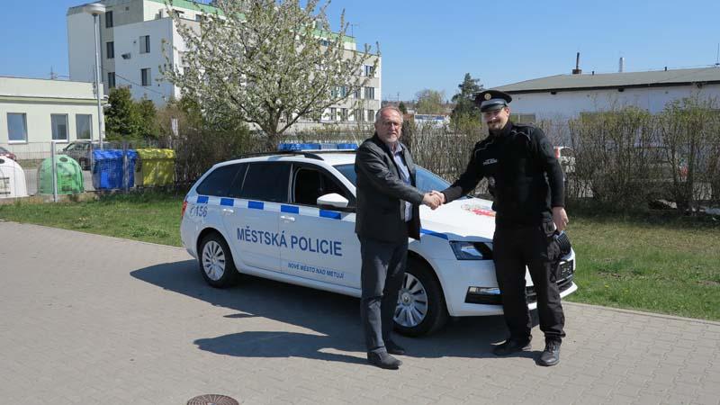 Nové služební vozidlo Městské policie